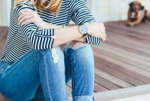 FASHION | Streifen / Striped Clothes / Du suchst Inspiration für hübsche gestreifte Mode? Hier sammle ich alles, was Streifen hat!