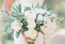 HOCHZEIT | Grün und Weiß / Klassischer geht es wohl kaum: Eine Hochzeit mit den Farben Grün und Weiß. Schlicht und elegant.