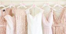 HOCHZEIT | Blush, Rosa & Flieder / Zarte Pastelltöne, sanftes Rosa, romantisches Blush. Die perfekten Farben für eine märchenhafte Hochzeit.