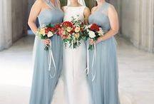 HOCHZEIT | Brautjungfern / Bridesmaids / Inspiration für Bridesmaids Dresses gesucht? In diesen Kleidern sehen Brautjungfern besonders schick aus!