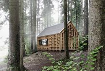 Small dwellings || / Fascination for small living spaces, tiny houses, tree houses etc. On and off grid.