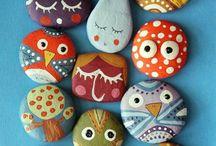 Piedras pintadas ** Art stones