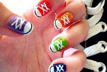 Uñas molonas ** Funny nails