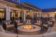 The Transformation of an Old Friend / The newly renovated Hyatt Westlake Plaza with a brand new restaurant including outdoor patio with fire pits, brand new meeting space and a modernized look and feel to the hotel.