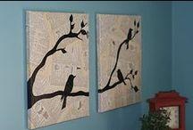 Easy Wall art / by Sara Bayad