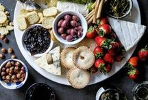 cheese charcuterie / Our favorite ideas for cheese appetizers and charcuterie boards! Who doesn't love a good meat and cheese plate?!