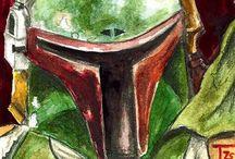 Boba Fett & Jango Fett - Star Wars / Boba Fett & Jango Fett - Star Wars / by darrin C*