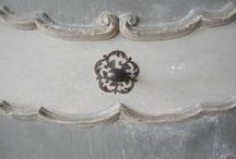 Antique Hardware Ideas for Doors & Cabinets / Looking for unique cabinet, furniture or door hardware? Here is a peek at our huge collection of authentic reclaimed European knobs, pulls, door knockers and handles more at www.chateaudomingue.com