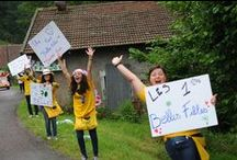 Tour de France / Le 14 juillet 2014, notre vallée a accueilli une nouvelle fois le Tour de France. L'étape 10 au départ de Mulhouse s'est terminée au sommet de la Planche des Belles Filles. En 2012, la première étape de montagne du Tour faisait l'expérience inédite d'une arrivée à la Planche des Belles Filles.
