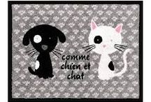 Cats lovers & Friends / pictures, photograph, graff, ect showing cats, with humans or another animal and the love between us..