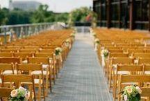 Ceremony Designs / Real wedding ceremonies at The Bridge Building in Nashville, TN.