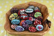 Painting Stones Rocks!
