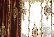 Curtains & other fabrics ..