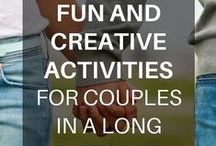 Activities 4 Couples in Long Distance Relationships / New and fun ways for couples in long distance relationships to connect across the miles.