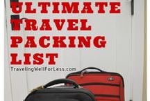 Travel Tips / Travel tips, tricks, and travel advice on what to see, what to do around the world, packing tips, how to save money for travel,  and other travel tips.