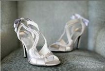 Wedding Shoes / Lovely shoes from real weddings photographed by the ladies at L Photographie. www.lphotographie.com