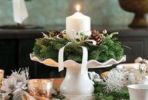 Vánoční / Vánoční dekorace v zahradě a interiéru, přáníčka a drobné dárky