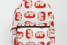 Backpacks / My backpacks available at society6 shop. https://society6.com/shihotana/backpacks