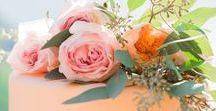 Peaches and Cream Wedding