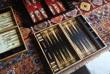 My Backgammon Board Designs / a collection of my #backgammon designs - www.alexandralldesign.com