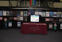 CEMS Displays  / Photo's of the displays in the foyer of the UNISA Library