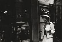 Coco Chanel / A girl on fire