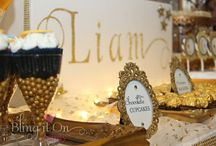 Liam's Baptism / Twinkle Twinkle Little Star Candy Buffet