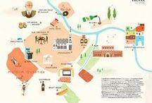 MAP // CARTES ♥ / by Fraise & Basilic