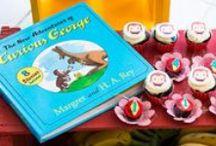 Curious George Party por Madame Tutu / Curious George Party / Festa George, o curioso. kites. party planning. party ideas. madame tutu