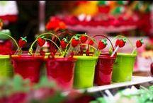 Moranguinho. Strawberry Shortcake por Madame Tutu / madame tutu, party planning, party ideas, strawberry shortcake, moranguinho