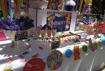Samantha's Candy Land 1st Birthday