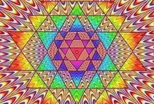 3D!!!!!!!!!!!Magic eye--  Illusions-Cross Eye 3D