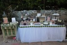 Christina & Richard's Wedding / Love Bird Candy Buffet