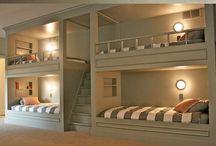 Hems, beliches, cama camarotes