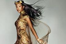 Designer Magic / Stunning Runway Fashion Stunning Designs  Runway strutting