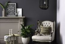 Colour trends / Paint and interior trends for stylish home living.