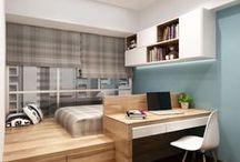 Compact living / Studio/student apartments