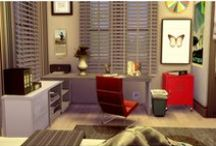 My Sims 4 Office (Decoration) / My all decorated Office in Sims 4
