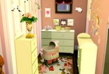 My Sims 4 Kids Rooms (Decoration) / All my decorated Rooms for Kiddies in Sims 4 :D