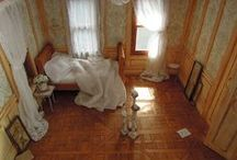 Miniature Bedroom / Thrilling miniature bedrooms with beautiful details