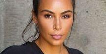 Kim Kardashian / Kim Kardashian inspireert mij met haar kleding smaak, make up, en gewoon hoe zij als persoon is. Vele hebben een hekel aan haar, maar waarom weten ze niet want ze komen altijd met dezelfde zwakke argumenten dat ze nep is of te dikke billen heeft. Misschien zijn ze een tikkeltje jaloers..