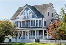 Captain's Cottages / Elegant and Enchanting Martha's Vineyard Cottages - perfect for a week long stay with family.  / by Harbor View Hotel