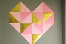 an die WAND / Ideen für eure Wände; #wall #decoration