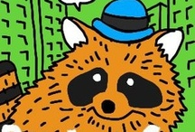 Raccoon In the City / Rick's Studio / since 20130330