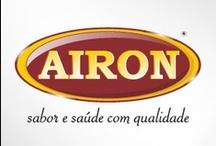 Airon / Pingue mais sabor com Alimentos saudáveis - www.pingshop.com.br/airon