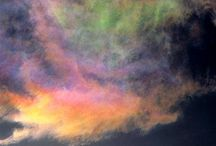 Awesome Clouds... / Mysterious clouds!  How they change often and everyday! They cover the heavens until that great day when they will be rolled back to reveal the GLORY OF GOD.  / by Adeline Isaacs