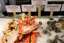 Chelsea Fish Market / The amazing Fish Market in New York city. Just behind Google building.
