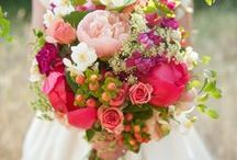 Wedding Bouquets / Bright and bold or pale and pretty - we love them all!