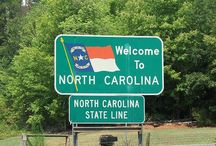 NORTH CAROLINA / One of the BEST PLACES IN THE WORLD to live. I. lOVE. NC.  / by Adeline Isaacs