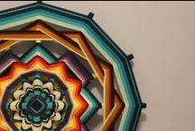 Mandalas Huicholes (Ojo de Dios)
